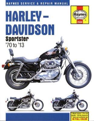 Harley-Davidson Sportster XL/XLH/XLCH/XLS/XLX 1970-2013 Repair Manual