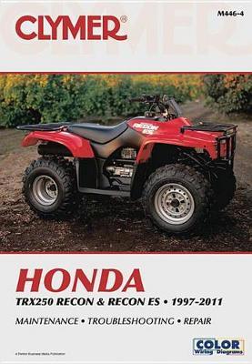 Honda TRX250 Recon & Recon ES 1997-2016 Repair Manual