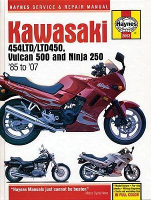 Kawasaki 454 Ltd, Vulcan 500 & Ninja 250 (85 -07)
