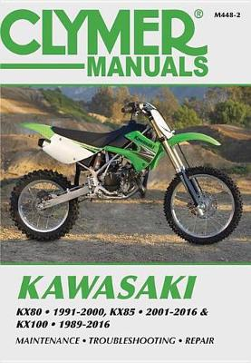 Clymer Kawasaki KX80, KX85 & KX10: 89-16