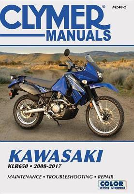 Clymer Kawasaki KLR650: 2008-17