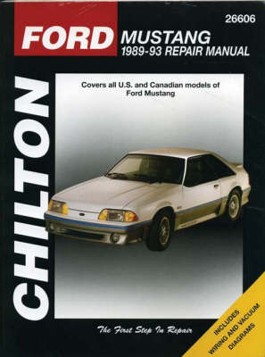 Ford Mustang, 1989-93