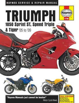 Triumph 1050 Sprint, Speed Triple & Tiger (05 - 15)