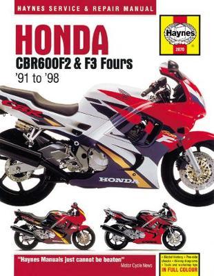 Honda CBR600F2 & F3 Fours (91-98): 91-98