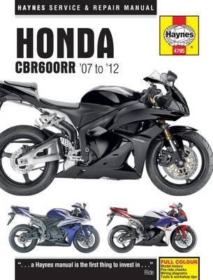 Honda CBR600RR (07 - 12)