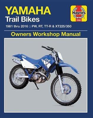Yamaha PW, RT, TT-R & XT225/350 Trailbikes 1981-2016 Repair Manual