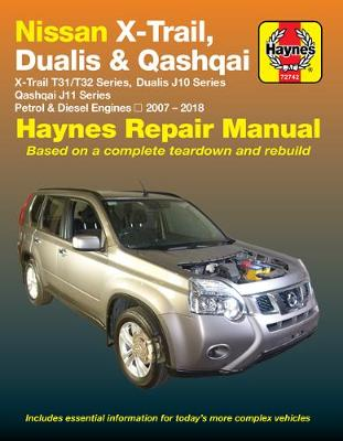 HM Nissan X Trail Dualis & Qashqai 2007-2018