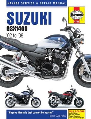 Suzuki GSX 1400 (02 - 08)