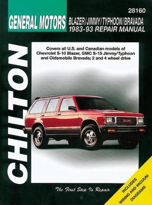 Chevrolet Blazer/Jimmy/Typhoon/Bravada (83 - 93)