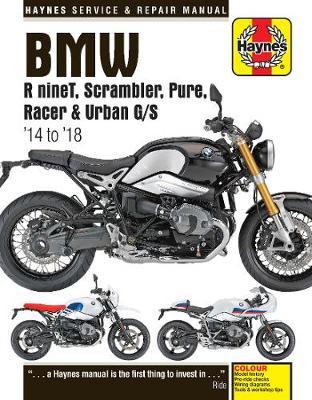 BMW R nineT, Scarmbler, Pure, Racer & Urban G/S (14 - 18): 2014 to 2018