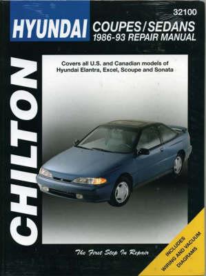 Hyundai Accent, Lantra, Sonata and S-Coupe, 1989-93