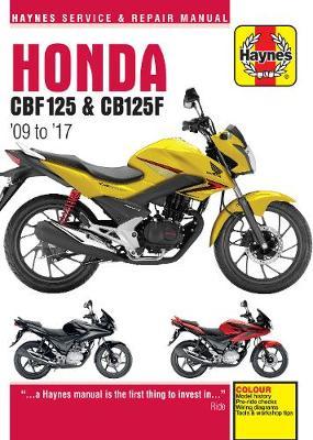 Honda CBF125 & CB125F ('09 To '17)