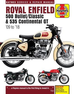 Royal Enfield 500 Bullet/Classic & 535 Continental GT (09-18): (09-18)