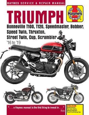 Triumph Bonneville/Speedmaster/Bobber/Thruxton/Twin 2016-2019 Repair Manual