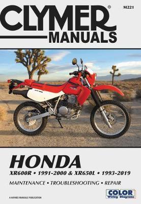 CL Honda XR600R-XR650L 1993-2019 Repair Manual