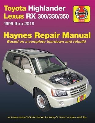 HM Toyota HighLander Lexus RX 300 330 350 1999-2019