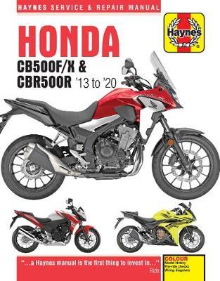 Honda CB500F/X & CBR500R update (13 -20)