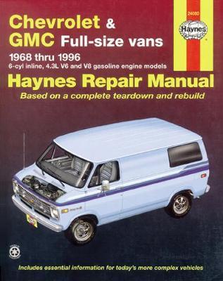 Chevrolet & GMC Vans Petrol 1968-1996 Repair Manual