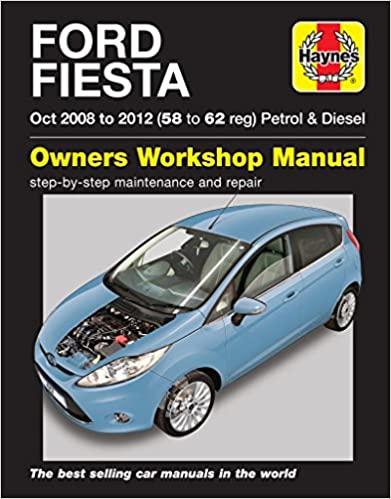 Ford Fiesta 2008-2012 Repair Manual
