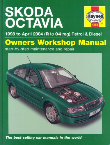 Skoda Octavia Petrol and Diesel Service and Repair Manual: 1998 to 2004