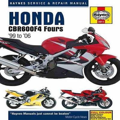 Honda CBR600F4 Service and Repair Manual