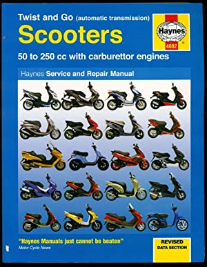 Twist and Go Scooter Service and Repair Manual