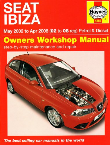 Seat Ibiza Petrol and Diesel: 02 to 08