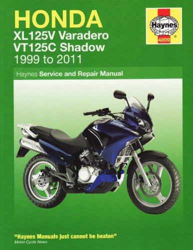 Honda XL125V & VT125C Shadow: 2000-2010