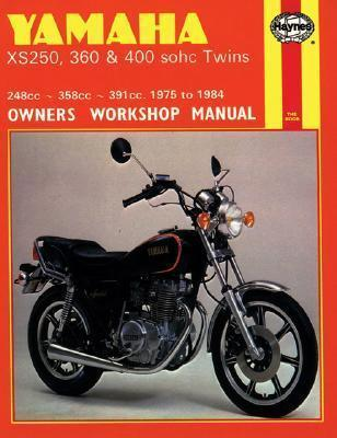 Yamaha XS360 & 400 SOHC Twins 248/358/391cc 1975-1984 Repair Manual