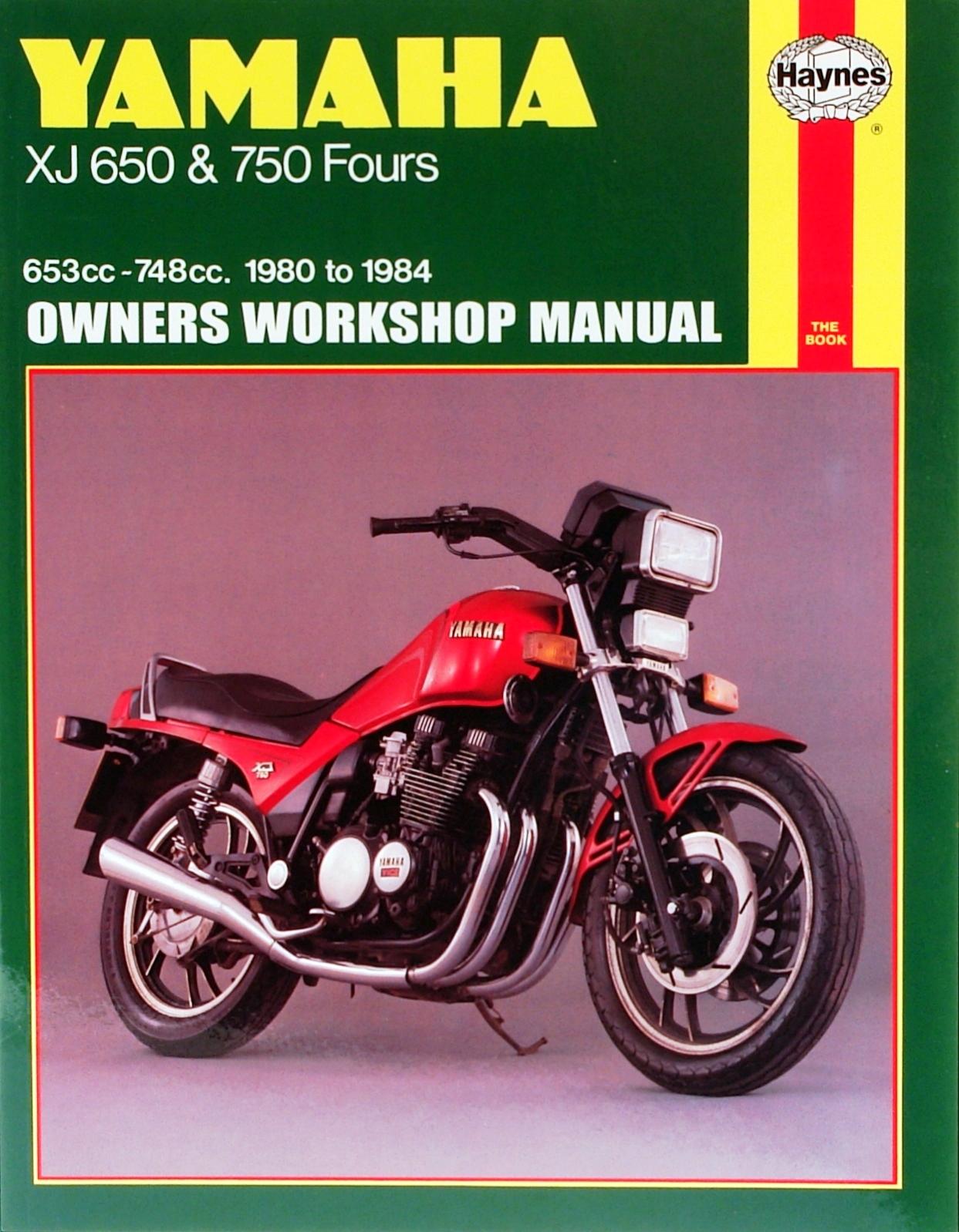 Yamaha XJ650 and 750 1980-1984 Repair Manual