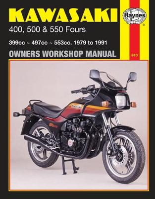 Kawasaki 400, 500 & 550 Fours (79 - 91)
