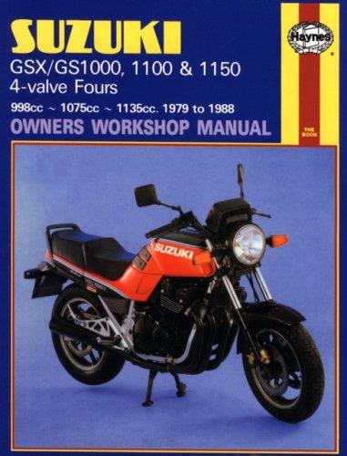 Suzuki GS/GSX1000, 1100 & 1150 4-Valve Fours (79 - 88)