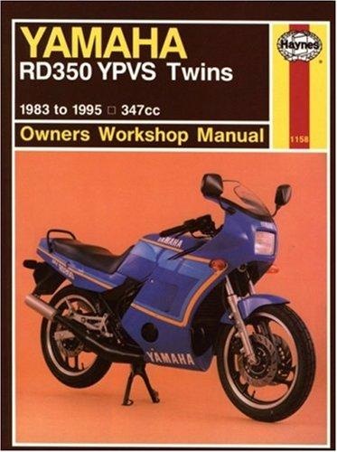 Yamaha RD350 YPVS Twins 347cc models 1983-1995 Repair Manual