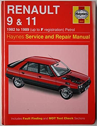 Renault 9 and 11 Service and Repair Manual