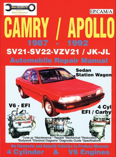 Toyota Camry/Apollo Sv21/22 - Vzv21/Jk-Jl