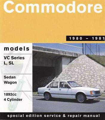 Holden Commodore VC 4 Cyl (1980-81)