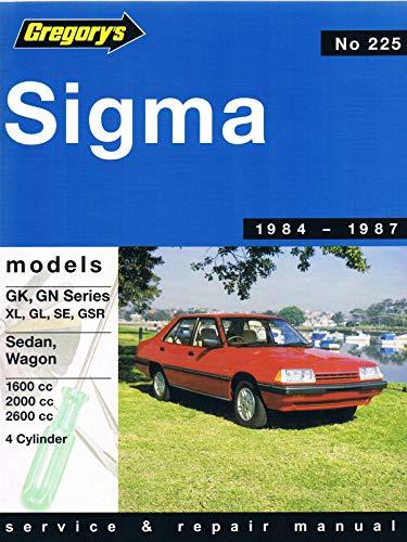 Mitsubishi Sigma Gk Gn 1984-87: Sedans Sigma-Gl-SE-Gsr, Wagons Sigma-Gl SE with Saturn 1600 Ohc Engine and Astron 2000-2600 Ohc Engine, 1984-1987, No. 225