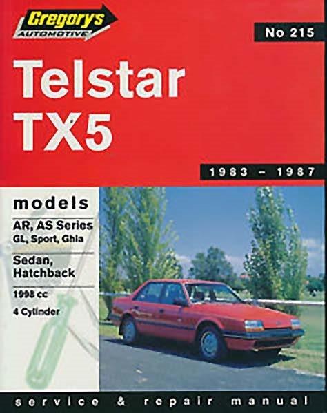 Ford Telstar Tx5 (1983-7) Repair Manual