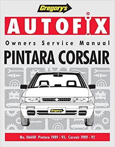 Nissan Pintara (1989-93) / Corsair (1989-92): Pintara 1989-93, Corsair 1989-92