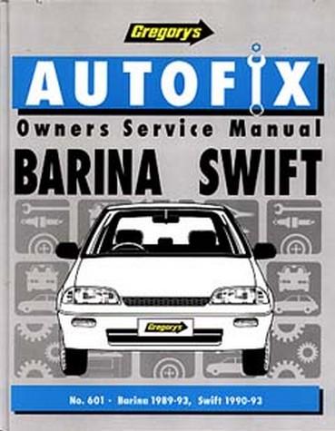 Holden Barina Mf, Mh (1989-93)/Swift Repair Manual