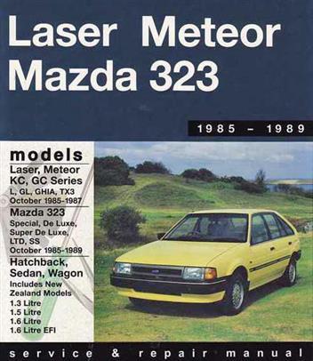 Ford Laser/Meteor Kc/GC (1985-87), Mazda 323 (1985-89)