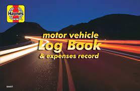 Motor Vehicle Log Book