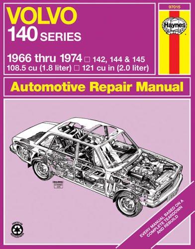 Volvo 142, 144, 145 Owner's Workshop Manual
