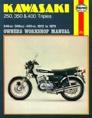 Kawasaki 250/350/400 triples S1/S2/S3 1972-1979 Repair Manual