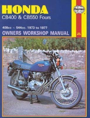 Honda CB400/CB550 Fours 1973-1977 Repair Manual