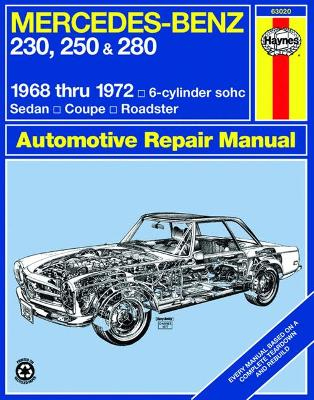 Mercedes-Benz 230, 250, 280 W108, W111, W113, W114 1968-1972