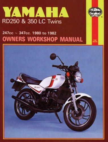 Yamaha RD250 & 350 LC Twins 247cc & 347cc 1980-1982 Repair Manual