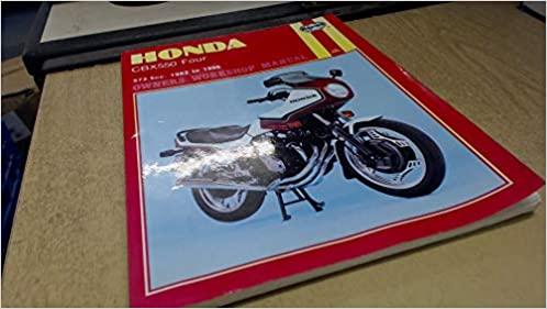 Honda CBX550 Fours 1982-1986 Repair Manual