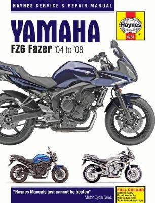 Yamaha FZ6 Fazer(04-08): 04-08