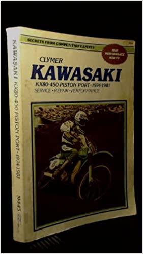 CL Kawasaki KX80-450 Piston Po 74-81